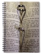 Rings From The Heart Spiral Notebook