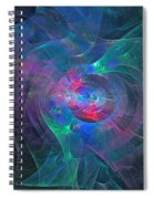 Rings Of Forndjot Spiral Notebook