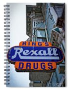 Ring's Rexall Drugs  Spiral Notebook