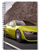 Rinspeed Etos Concept Self Driving Car Spiral Notebook