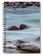 Rio Grande Flow Through Stones Spiral Notebook