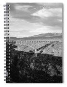 Rio Grande Gorge Birdge Spiral Notebook