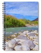 Rio Grande Hoodoos Trail Head Spiral Notebook
