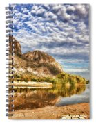 Rio Grande River Oil Painting Spiral Notebook