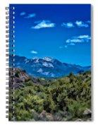 Rio Hondo Arroyo View Spiral Notebook