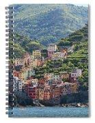 Riomaggiore 0576 Crop Spiral Notebook