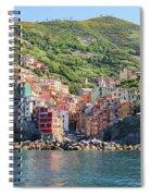 Riomaggiore 0582 Crop Spiral Notebook
