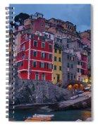 Riomaggiore In Cinque Terre Italy Spiral Notebook