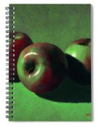Ripe Apples Spiral Notebook
