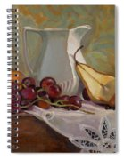 Ripening Pears With Grapes Spiral Notebook