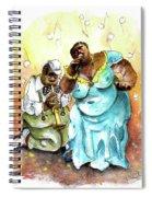 Ripon Blues Spiral Notebook