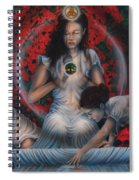 Ripple Of Life Spiral Notebook