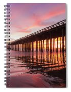 Rippled Reflection Spiral Notebook