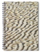 Ripples In The Sand IIi Spiral Notebook