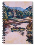 Ripples On The Little River Spiral Notebook