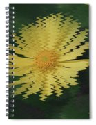 Rippling Daisies  Spiral Notebook