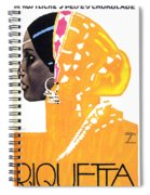 Riquetta - Food And Drink - Vintage Advertising Poster Spiral Notebook