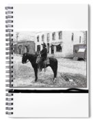 Risdon Photography Studio #1 Clifton Arizona C.1909-2009 Spiral Notebook