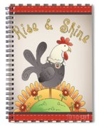 Rise And Shine-jp2836 Spiral Notebook