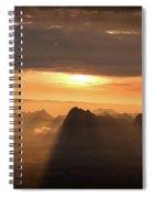 Rise Light Life Spiral Notebook