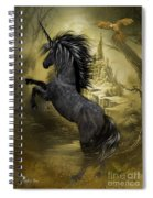 Rise Of The Unicorn Spiral Notebook