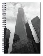 Risen Out Of The Rubble Spiral Notebook