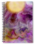 Rising Sun Spiral Notebook