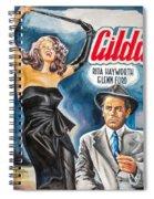 Rita Hayworth Gilda 1946 Spiral Notebook