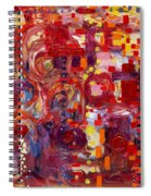 Rite Of Spring Spiral Notebook