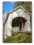 Ritner Creek Covered Bridge 0739 Spiral Notebook