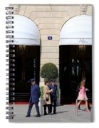 Ritz Hotel Paris Spiral Notebook