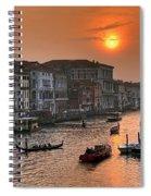 Riva Del Ferro. Venezia Spiral Notebook