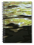 River Abstract Spiral Notebook
