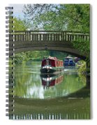 River At Harlow Mill Spiral Notebook