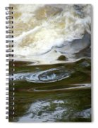 River Aux Sables, Ontario, May 2015 Spiral Notebook