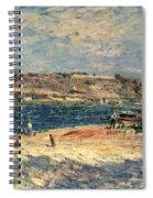 River Banks At Saint-mammes Spiral Notebook