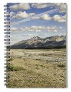 River Bed In Denali National Park Spiral Notebook