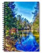 River Bend View Spiral Notebook