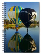 River Dance Spiral Notebook