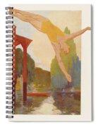 River Diver Spiral Notebook