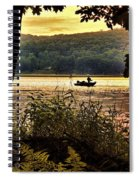 River Fishing  Spiral Notebook