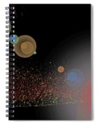 River Grasses In Night Colors Spiral Notebook