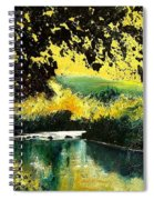 River Houille  Spiral Notebook