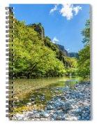 River In Kleidonia Zagora Spiral Notebook