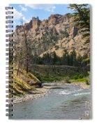 River In Shoshone Spiral Notebook