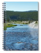 River In Yellowstone Spiral Notebook