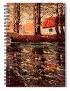 River Landscape Spiral Notebook