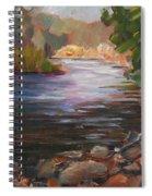 River Light Spiral Notebook