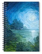 River Moon Spiral Notebook