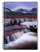River Of Glass Spiral Notebook